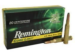 Remington Express Ammunition 270 Winchester 150 Grain Core-Lokt Soft Point Box of 20