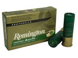"Remington Premier Ammunition 12 Gauge 3"" 385 Grain AccuTip Bonded Sabot Slug with Power Port Tip ..."