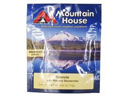 Mountain House Granola with Blueberries and Milk Freeze Dried Food 4 oz