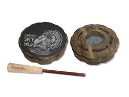 FoxPro Spit-N-Spur Aluminum and Slate Pot Turkey Call