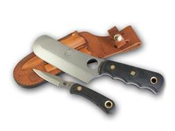Knives of Alaska Brown Bear Combo Fixed Blade Knife D2 Tool Steel Blades