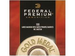 Federal Premium Gold Medal Large Rifle Magnum Match #215M Primers