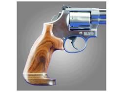 Hogue Fancy Hardwood Grips with Accent Stripe Colt Trooper Mark III Oversize