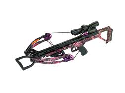 Carbon Express Covert Tyrant Huntress Crossbow Package with 4x32 Scope Muddy Girl Camo