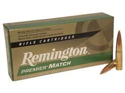 Remington Premier Match Ammunition 300 AAC Blackout 125 Grain Open-Tip Match (OTM) Box of 20