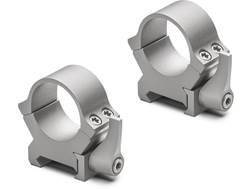 """Leupold 1"""" QRW2 Quick-Release Weaver-Style Rings Silver Medium"""