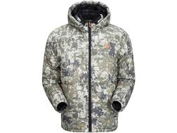 Plythal Men's Goose Down Extreme Hooded Jacket Polyester Digital