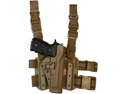 Military Surplus Thigh Holster Right Hand Beretta M9, 92, 96 Grade 2 Tan Polymer