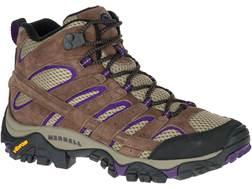 "Merrell Moab 2 Mid Vent 5"" Hiking Boots Leather/Nylon Women's"