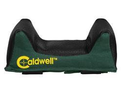 Caldwell Universal Deluxe Bench Rest Forend Front Shooting Rest Bag Wide Nylon and Leather Filled
