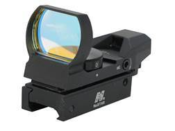 NcStar Tactical Reflex Red Dot Sight (Circle Crosshair with 4 MOA Dot, Circle with 4 MOA Dot, 1 M...