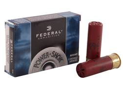 "Federal Power-Shok Ammunition 12 Gauge 3"" Buffered 00 Buckshot 15 Pellets Box of 5"