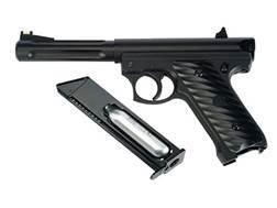 Hatsan Tac-Boss 250TX Air Pistol 177 Caliber BB Black Polymer Grips Black Frame