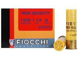 "Fiocchi Shooting Dynamics High Velocity Ammunition 20 Gauge 3"" 1-1/4 oz #6 Shot Box of 25"