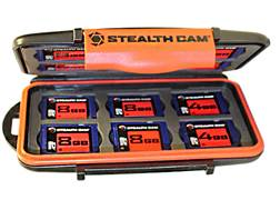 Stealth Cam SD Memory Card Storage Case Polymer Black