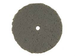 "Cratex Abrasive Wheel Flat Edge 7/8"" Diameter 1/8"" Thick 1/16"" Arbor Hole Coarse Bag of 20"