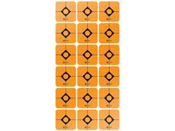 "Caldwell Target Squares 1"" Pack of 12 Sheets 18 Squares per Sheet Orange"