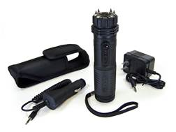 ZAP Light Extreme 1,000,000 Volt Stun Gun with LED Flashlight Rechargeable Ni-MH Battery Aluminum...