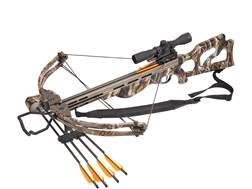 SA Sports Ripper Crossbow Package with 4x32 Multi-Range Scope NEXT G2 Camo