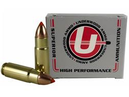 Underwood Ammunition 458 SOCOM 300 Grain Nosler Ballistic Tip Spitzer Box of 20