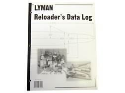 "Lyman ""Reloading Data Log"" Reloading Manual"