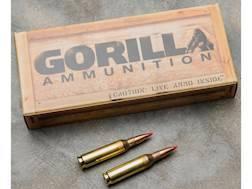 Gorilla Target Ammunition 260 Remington 100 Grain Hornady A-MAX Boat Tail Box of 20