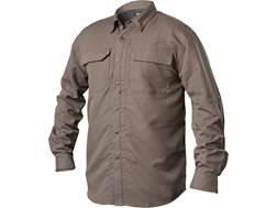 BLACKHAWK! Men's Tac Convertible Button-Up Shirt Long Sleeve Polyester Ripstop Fatigue Small