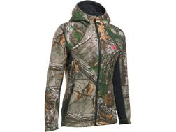 Under Armour Women's UA Stealth Insulated Hoodie Polyester Realtree Xtra Camo