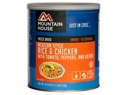 Mountain House 10 Serving Mexican Rice with Chicken Freeze Dried Food #10 Can