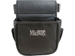 MidwayUSA Shell Pouch with Belt Black