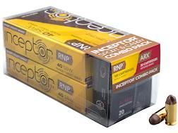 Polycase Inceptor Ammunition Sport and Carry Combo Pack 40 S&W Frangible 97 Grain ARX Preferred D...