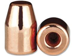 Berry's Bullets 9mm (356 Diameter) 124 Grain Plated Hollow Base Flat Point Thick Plate