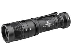 Surefire V1 Vampire Flashlight White and IR LED with 1 CR123A Battery Aluminum Black