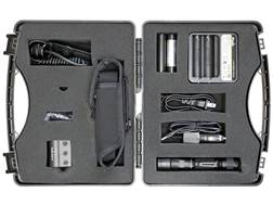 Fenix PD35 TAC Complete Gun Kit Weapon Light LED with 2 18650 Rechargeable Batteries Aluminum Black