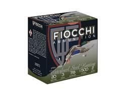 """Fiocchi High Speed Steel Ammunition 20 Gauge 3"""" 7/8 oz #2 Non-Toxic Steel Shot"""