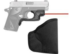 Crimson Trace Laserguard Red Laser Sight Sig Sauer P238 Polymer Black with Pocket Holster