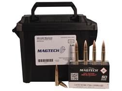 Magtech First Defense Ammunition 300 AAC Blackout 123 Grain Full Metal Jacket Ammo Can of 200 (4 ...