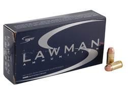 Speer Lawman Cleanfire Ammunition 40 S&W 180 Grain Total Metal Jacket Box of 50
