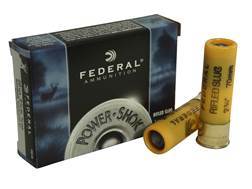 "Federal Power-Shok Ammunition 20 Gauge 2-3/4"" 3/4 oz Hollow Point Rifled Slug Box of 5"