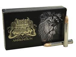 Nosler Safari Ammunition 458 Lott 500 Grain Partition Box of 20