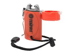 UST TekFire Fuel-Free WindProof Electronic Lighter Orange
