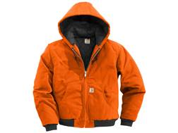 Carhartt Men's Quilted Flannel Lined Duck Active Jacket Cotton