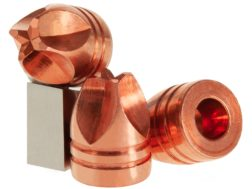 Lehigh Defense Xtreme Defense Bullets 45 ACP (451 Diameter) 120 Grain Solid Copper Fluid Transfer...