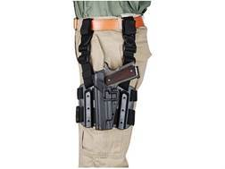 BLACKHAWK! Tactical Serpa Thigh Holster Left Hand Beretta 92, 96 Polymer Black