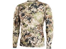 Sitka Gear Men's Core Lightweight Crew Shirt Long Sleeve Polyester Optifade Subalpine Camo Medium