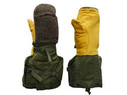 Military Surplus ECW Mitten Set Grade 1 Olive Drab Large