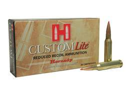 Hornady Custom Lite Ammunition 7mm-08 Remington 120 Grain SST Box of 20