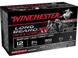 """Winchester Long Beard XR Turkey Ammunition 12 Gauge 2-3/4"""" 1-1/4 oz #5 Copper Plated Shot"""