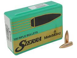 Sierra MatchKing Bullets 6.8mm Remington SPC (277 Diameter) 115 Grain Hollow Point Boat Tail Box ...