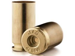 Jagemann Reloading Brass 40 S&W Bag of 100